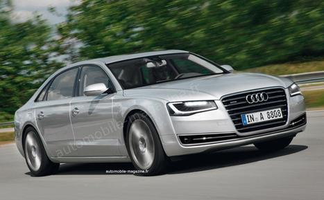 Audi A8 2014 - L'Automobile Magazine   Outillage Professionnel   Scoop.it