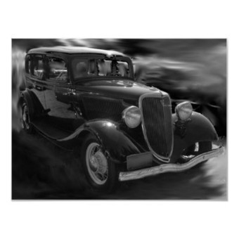 In the 30's poster from Zazzle.com | My Dream Car | Scoop.it