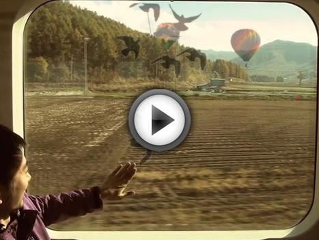 Touch the Train Window : la réalité augmentée arrive dans les trains | Actu de la Réalité Augmentée et de l'impression 3D | Scoop.it