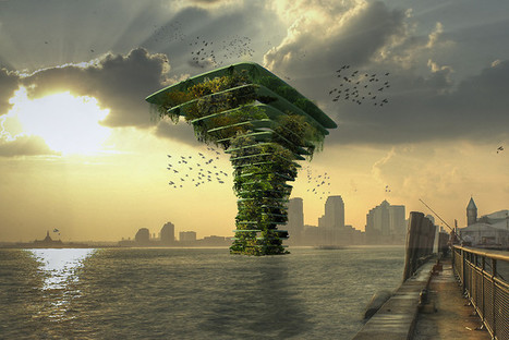 "Architect Proposes ""Sea Trees"": Floating Wildlife Oases 