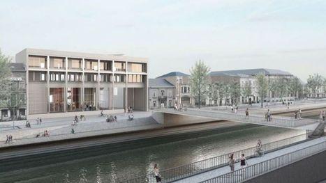 Charleroi a son Pont des Arts : la Placerelle est en place - RTBF | B4C | Scoop.it