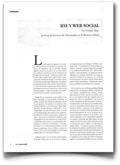Responsabilidad social corporativa y web social. | E-Learning, Formación, Aprendizaje y Gestión del Conocimiento con TIC en pequeñas dosis. | Scoop.it