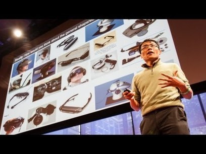 Rapid prototyping Google Glass - Tom Chi | 3D Printing and Fabbing | Scoop.it