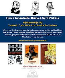 TANQUERELLE: RENCONTRES TANQUERELLE/BRÜNO/PEDROSA. | Bande Dessinée | Scoop.it