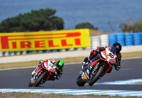 "Quicker Lap Times with New 17"" Pirelli World SBK Tires 