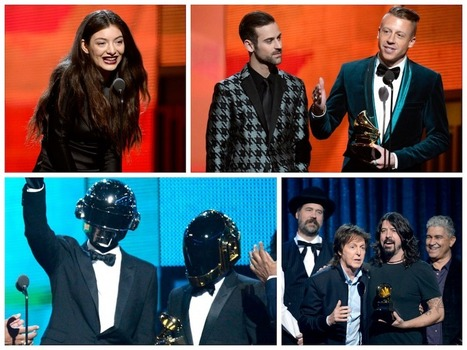 2014 Grammy Awards Winners ~ First Celeb Post | Television Industry | Scoop.it