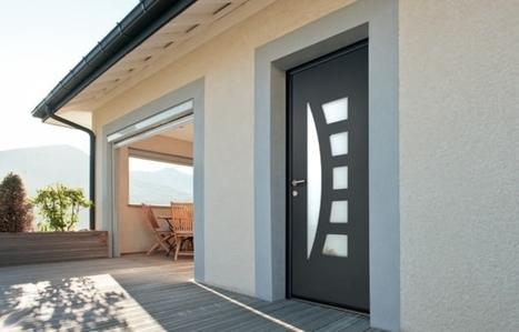 Votre porte d'entrée: aluminium ou PVC? | Tu construis ta maison ? Voici plein d'infos intéressantes ! | Maisons BBC RT2012 | Scoop.it