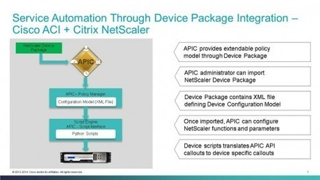 Citrix NetScaler Device Package for Cisco ACI goes FCS | In a Big-IP World | Scoop.it