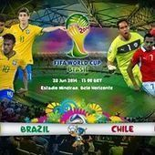 Watch Brazil vs Chile Live Streaming FIFA World Cup 2014   FIFA World Cup 2014 Final Live   Scoop.it