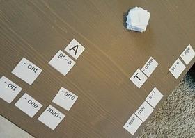 Apprendre à lire et écrire avec des cartes-mot | Création de sites internet - Référencement Dijon | Scoop.it
