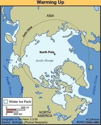 Geography in the News: Arctic Dangers to Oil Platforms | Geography in the News | Scoop.it