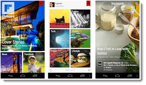 Flipboard ya oficialmente en Android, con integración de Google+ y YouTube | VIM | Scoop.it