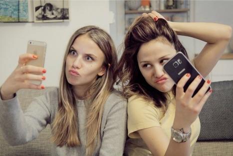 Quand deux filles démontent les clichés sexistes grâce à Snapchat   Faire société à l'ère numérique   Scoop.it