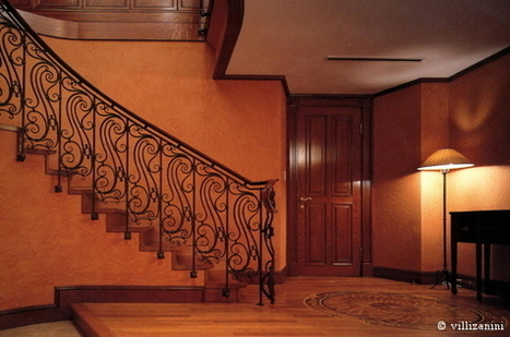 Wrought iron handrails | I go out to write a post and go back | Villi Zanini Wrought Iron | Scoop.it
