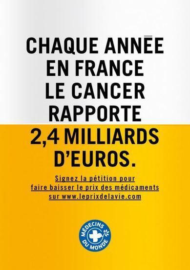Accusée de nuire aux laboratoires pharmaceutiques, une campagne de Médecins du monde censurée | Toxique, soyons vigilant ! | Scoop.it