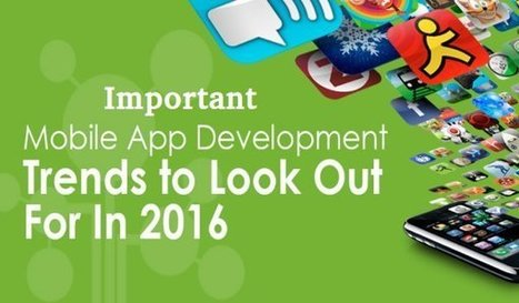 Important Mobile App Development Trends To Look Out For in 2016 | Web Design & Web Development India | Softqube Technologies | Scoop.it
