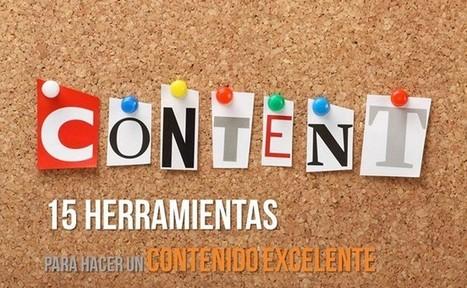 15 Herramientas para hacer un contenido excelente | AgenciaTAV - Asistencia Virtual | Scoop.it