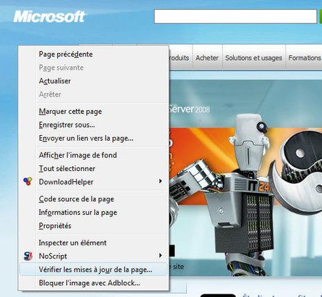 Surveiller des sites Internet sans flux RSS dans Firefox | Protuts.net | WEB REFERENCE CULTURE SOCIAL | Scoop.it