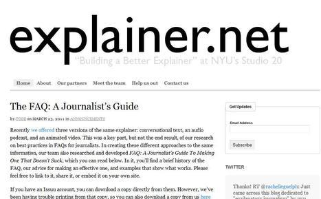 explainer.net | Top sites for journalists | Scoop.it