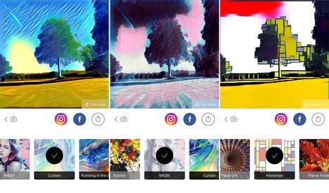 Prisma se dote d'un mode hors-ligne pour transformer vos photos | Actualité Social Media : blogs & réseaux sociaux | Scoop.it