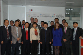 A delegation of the Aviation Industry Corporation of China (AVIC) visits Madrid Network | Aviation Industry | Scoop.it