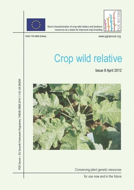 Crop Wild Relative Newsletter – Conserving plant genetic resources ... | Agricultural Biodiversity | Scoop.it