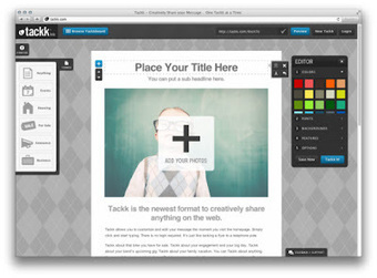 Tackk, una manera simple de crear y publicar contenido online : Herramientas Tecnológicas para Docentes   Linguagem Virtual   Scoop.it