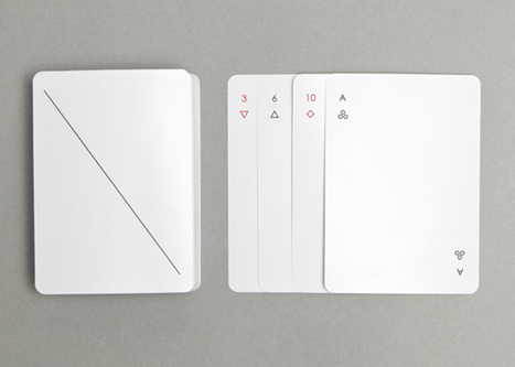 Minimalist playing card design from Joe Doucet and Partners | Interesting fun stuffs | Scoop.it