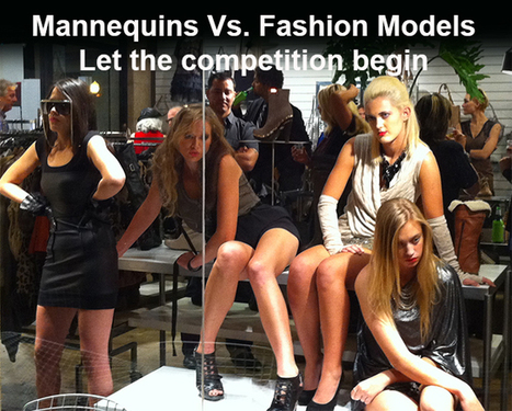 The Great Mannequin Vs. Fashion Model Showdown | Futurist Thomas Frey | leapmind | Scoop.it