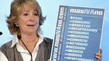 El PP de Madrid cierra la web que creo para oponerse a la subida del IVA | Partido Popular, una visión crítica | Scoop.it