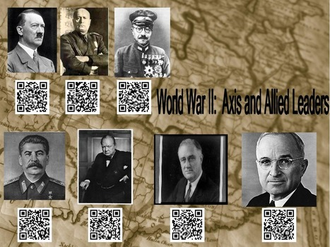 WWII Sample - QR Codes for Education | TACCLE2 | Scoop.it