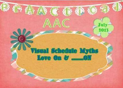 Visual Schedule Myths Live On.. | AAC: Augmentative and Alternative Communication | Scoop.it