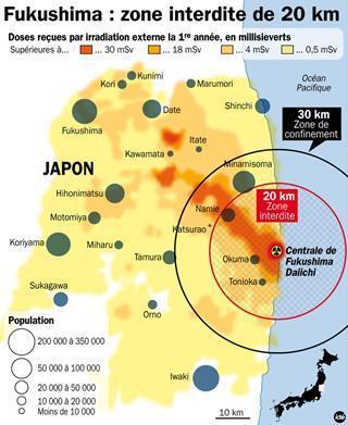 #Fukushima : la zone des 20 km désormais Zone Interdite. | Japan Tsunami | Scoop.it