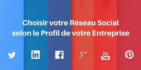 ▶ Quel Réseau social pour Mon Entreprise : le Guide | Marketing digital BtoB | Scoop.it