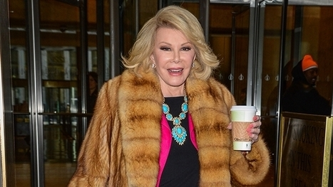 Joan Rivers Touts iPhone 6 From Beyond the Grave | Scott's Linkorama | Scoop.it