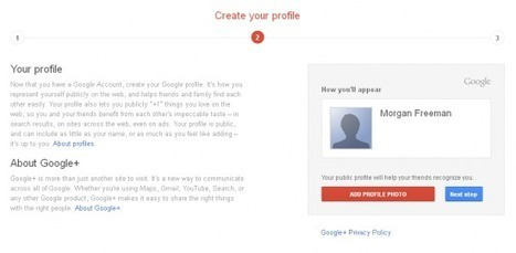 Quand Google impose Google+ pour la création d'un compte | FrenchWeb.fr | Web & Internet | Scoop.it