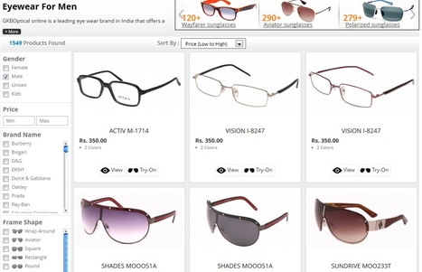 Getting your style of eyeglasses from GKBOptical | Online eyewear shopping | Scoop.it