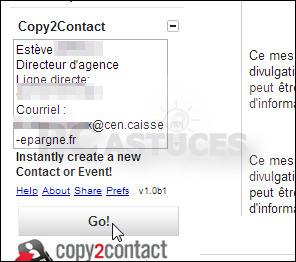Créer rapidement un nouveau contact à partir d'informations copiées - Gmail | Time to Learn | Scoop.it