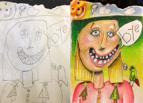 Dad Adds Magical Element to 6-Year-Old Daughter's Drawings | Memoirs of a Chonga | Scoop.it
