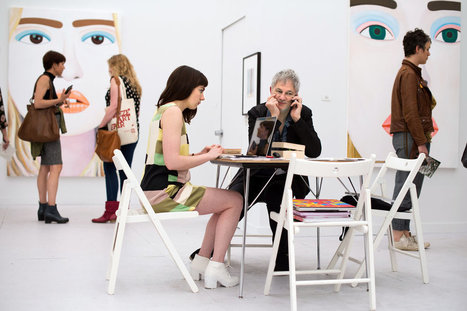 At Frieze Art Fair, Figures at an Exhibition | Fashion and Fashonians | Scoop.it