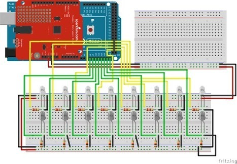 Play the DIY arpeggiator with infrared detectors and Arduino Mega | Raspberry Pi | Scoop.it