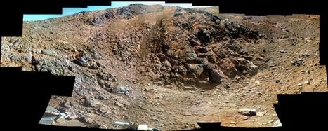 Opportunity: attività impegnative a Knudsen Ridge | Space & Astronony | Scoop.it