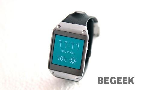 Test Samsung Galaxy Gear - Be Geek | Medias sociaux | Scoop.it