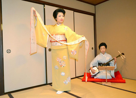 Kanazawa's geisha tradition gets boost with new blood | The Japan Times | Asie | Scoop.it