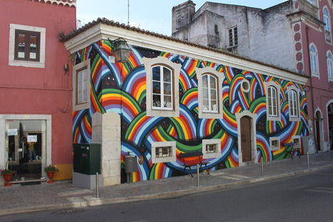 MAR, 'Rainbow Guardian', Portugal - unurth | street art | Lving the ex pat life | Scoop.it