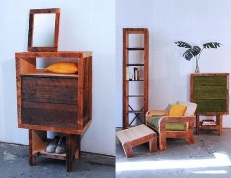 Made of New York Manhattan Recycled Wood Furniture | Garden Design | What Surrounds You | Scoop.it