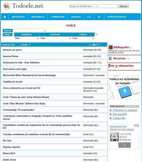 EL CINE EN LA CLASE DE ESPAÑOL: Películas clasificadas por niveles (MCER) | Las TIC en el aula de ELE | Scoop.it