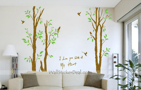 I Love You With All My Heart Wall Sticker – WallStickerDeal.com   Tree Wall Stickers   Scoop.it
