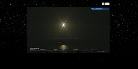 SpaceX Launches CRS-9 Cargo Mission to ISS, Lands First Stage at CCAFS | The NewSpace Daily | Scoop.it
