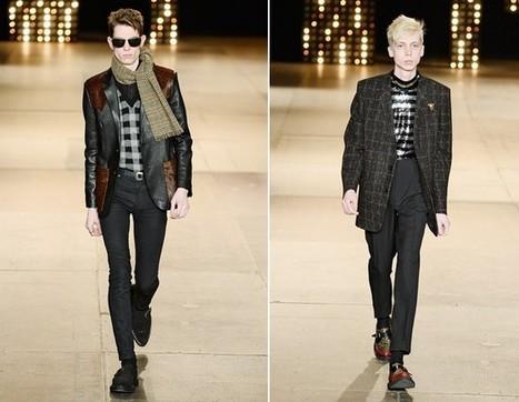 Yves Saint Laurent Closes Paris Fashion Week!   Actualités Yves Saint Laurent   Scoop.it